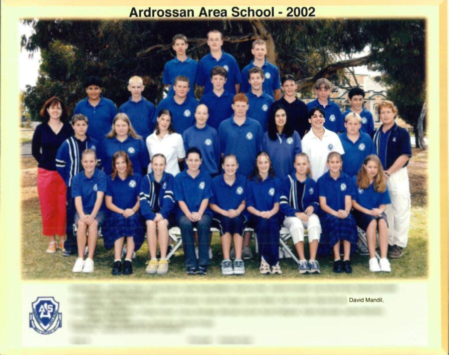 Nosso sócio David Mandil durante seu programa de High School na Australia
