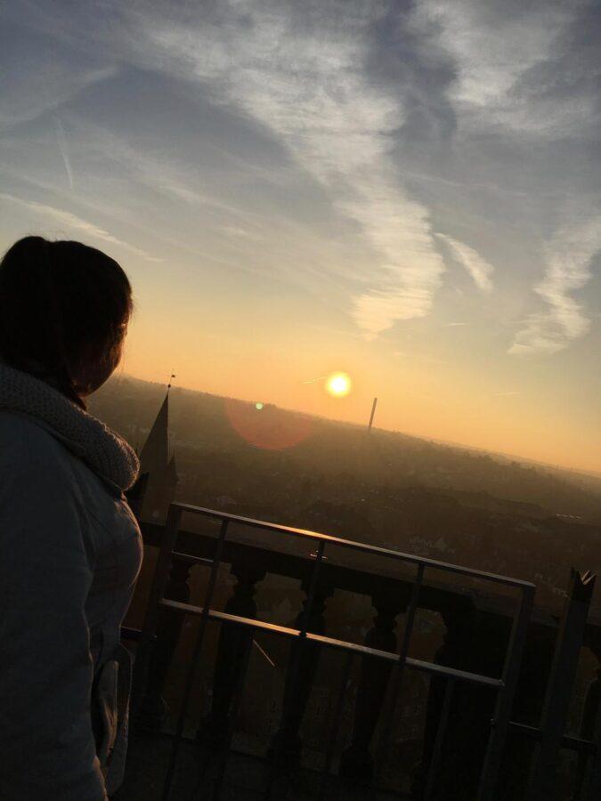 Vista de Rooftop na Dinamarca
